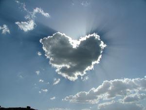 cuore nuvole