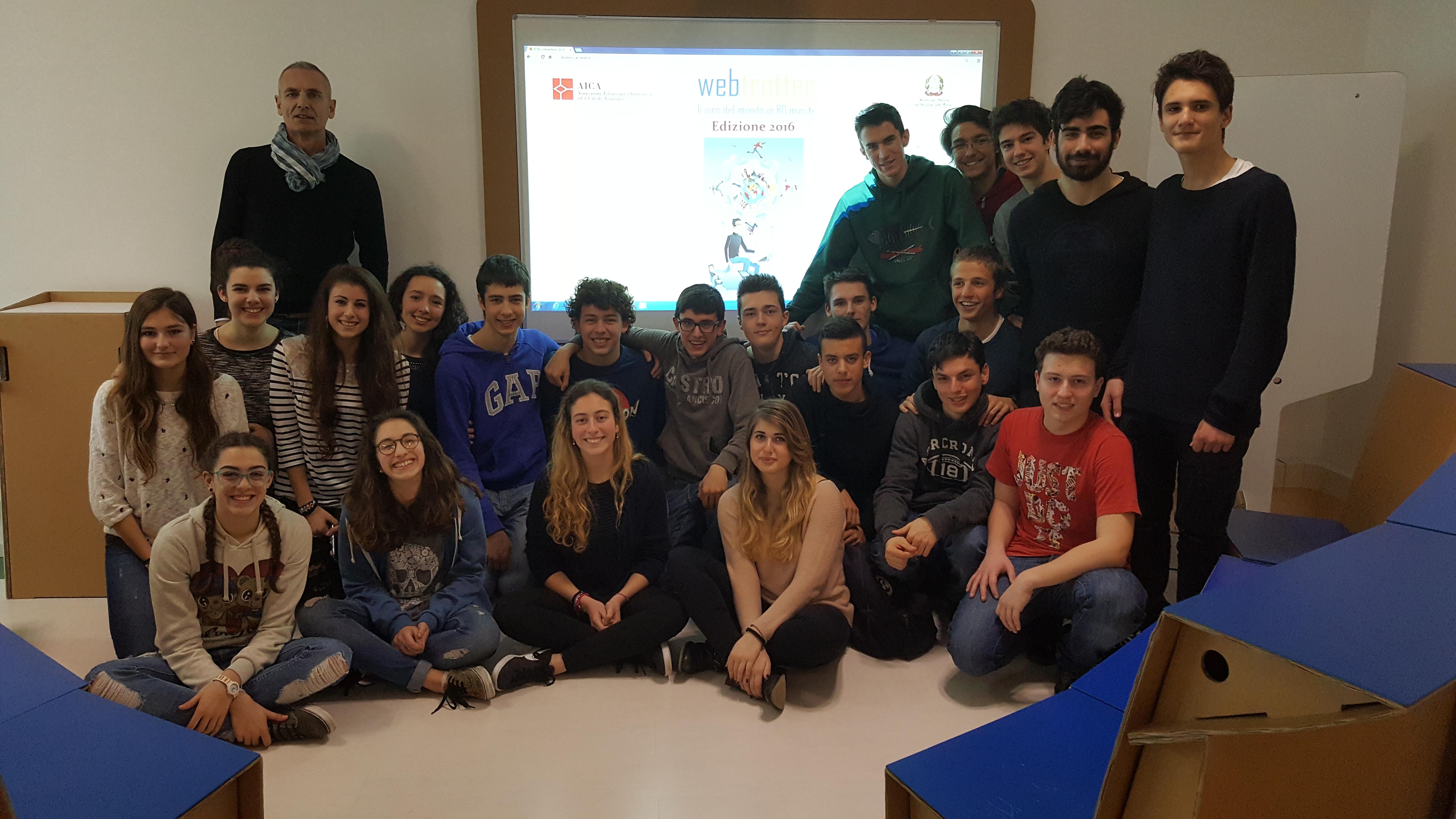 Concorso WebTrotter. Ancora uno straordinario risultato per il Liceo Savoia!