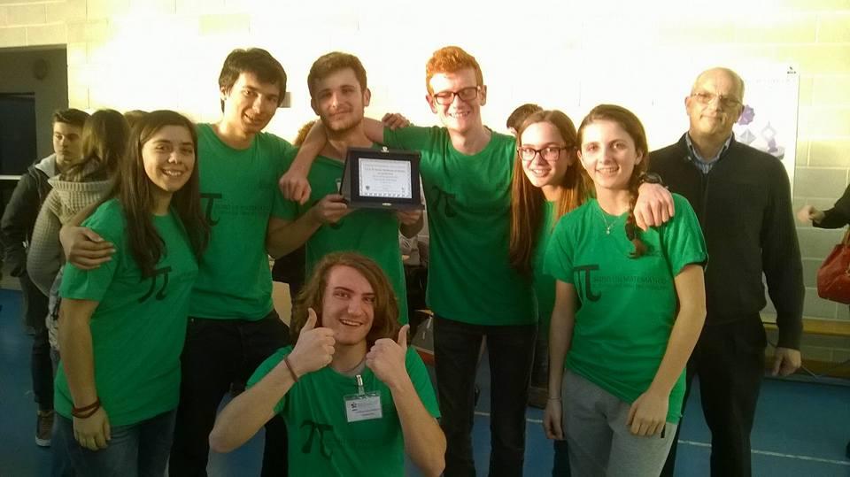Olimpiadi di Matematica a squadre 2^ posto a L'Aquila