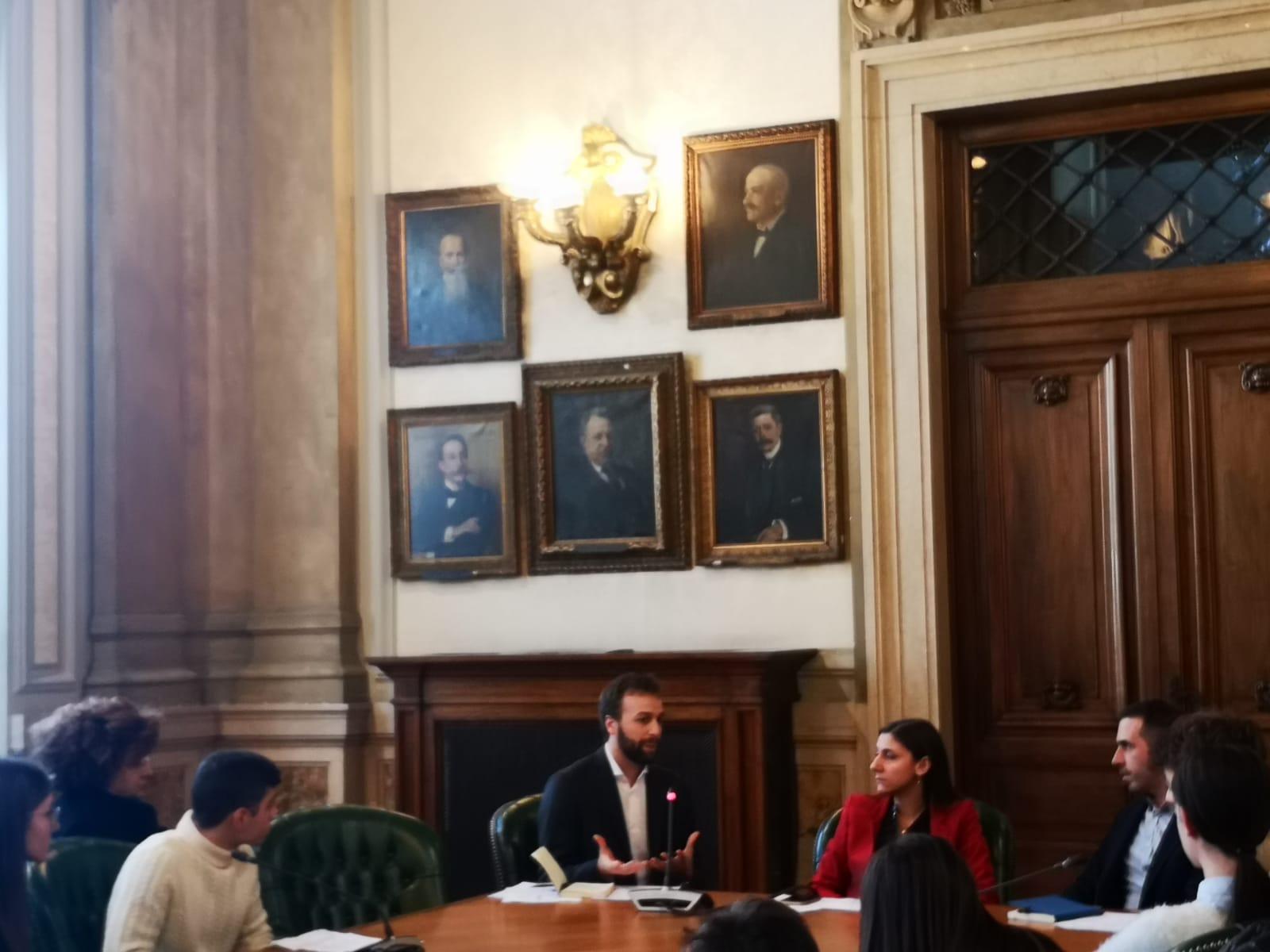 STUDENTI DAL VICE MINISTRO ANNA ASCANI PER RACCONTARE L'ESPERIENZA DELLA SCUOLA CHANGEMAKER
