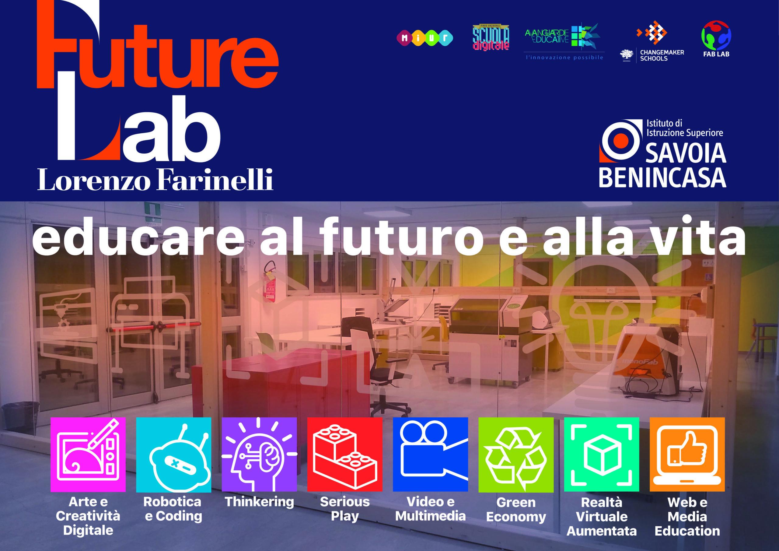 La seconda edizione delle attività formative del FutureLab